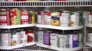 3 lazy susans on pantry shelf less than 1 8
