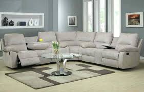 Sectional Recliner Sofas Microfiber Sectional Recliner For 24 Sectional Reclining Sofas