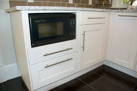 microwave base cabinet on base kitchen island traditional