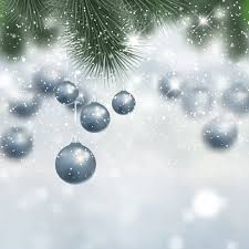 silver christmas silver christmas background with baubles free vectors ui