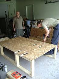 How To Build A Wood Platform Bed Frame by Build A Bed In The Back Of Your Van 4 Steps With Pictures