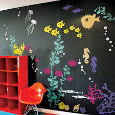 sea wall stickers custom wall stickers under the sea wall decals