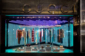 gucci unveils window design for alessandro michele u0027s first