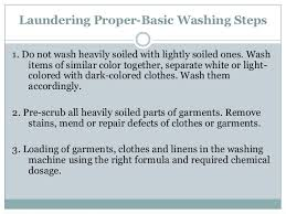 how to wash light colored clothes lesson 6 tle report