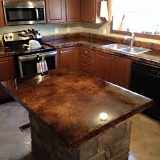 Kitchen Counter Top Design by Best 25 Concrete Countertop Sealer Ideas On Pinterest Diy