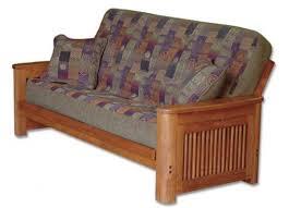 oak futon sofa bed big tree futon z57221ssf buy big tree cascade full size oak futon