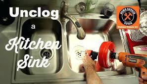 Snake Kitchen Sink Impressive Snake Kitchen Sink Unclogging Kitchen Sink Drain