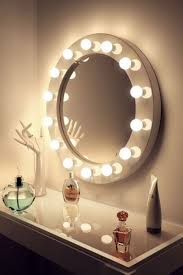 round makeup mirror with lights high gloss white round hollywood makeup mirror with dimmable ls
