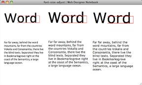 the little known font size adjust css3 property web designer