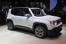 jeep vehicles 2015 jeep renegade is u0027male u0027 while fiat 500x will be more u0027female