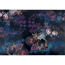 cynthia rowley wallpaper cosmic black floral house ideas