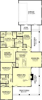 narrow lot house plans with rear garage southern house plans country style rear entry garagetsman side