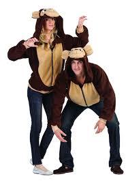 Halloween Costume Monkey Amazon Rg Costumes Morgan Monkey Hoodie Clothing