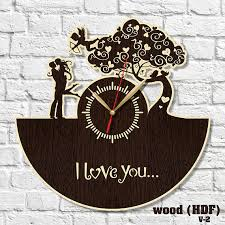 wedding clocks gifts clock wooden clock hdf clock acrylic clock wedding gift