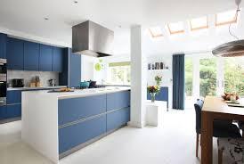 blue modern kitchen cabinets modern kitchen with blue kitchen cabinets hupehome