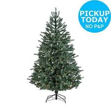 6ft christmas tree collection 6ft pre lit christmas tree frosted blue the