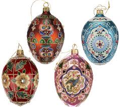 egg ornament joan rivers 2014 set of 4 russian inspired egg ornaments page 1