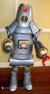 coolest homemade robot halloween costume