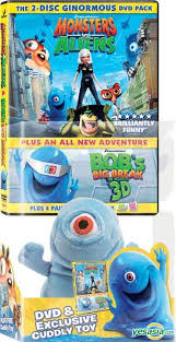 yesasia monsters aliens dvd 2 disc limited plush doll