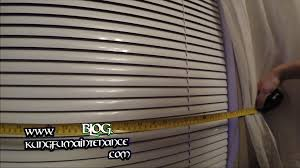 how to measure for one inch mini blinds inside mount order youtube