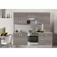 cuisine effet bois cuisine complète mélaminée imitation bois clair ou foncé tendencio