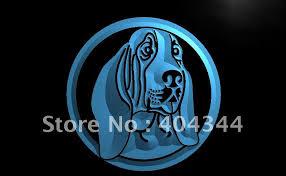 afghan hound harga lb653 basset font b hound b font new dog pet led neon font b light b jpg