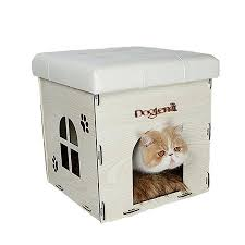 Soft Ottoman Soft Cat House Ottoman Multi Function Home Chair Detachable Puppy