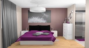 chambre aubergine et beige chambre aubergine et