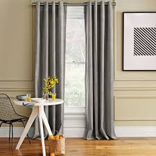 Wool Curtains Gray Curtains
