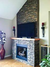 Amazing Fireplace Stone Panels Small by The 25 Best Faux Stone Fireplaces Ideas On Pinterest Diy