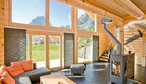 chalet honka prefab house traditional energy efficient two alpine