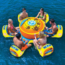 6 person max floating sofa octo island wow world of