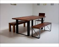 industrial kitchen table furniture kitchen white wood kitchen table 1950s dining table and chairs