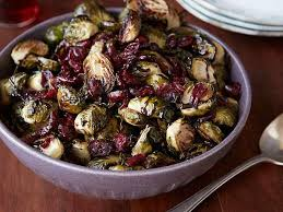 brussels sprouts with balsamic and cranberries recipe ree