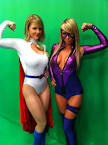 CARRIE KEAGAN - SARA UNDERWOOD - SUPER HERO OUTFITS strangecosmos.com