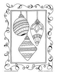 christmas ornament coloring adults grown ups hand
