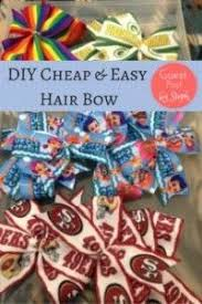 cheap hair bows best 25 easy hair bows ideas on diy hair bows make