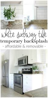 wallpaper backsplash kitchen frugal backsplash ideas clear glass splashback over wallpaper