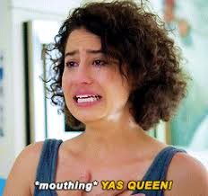 Yasssss Meme - broad city crying gif find share on giphy