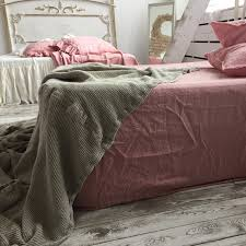 fitted linen sheet deep pocket fitted dusty rose 100 linen stone