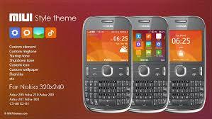 windows 10 themes for nokia asha 210 miuiv6 style theme s40 320x240 asha 205 asha 210 asha 200 asha 201