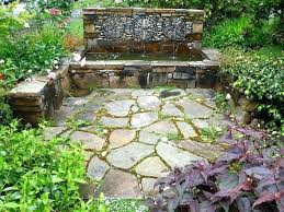 Rock Fountains For Garden Rock Garden Fountains Garden Design Small Garden