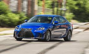 sporty lexus blue 2017 lexus is in depth model review car and driver