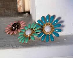 clip on earrings dublin clip on earrings vintage etsy ie