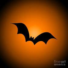 halloween silhouettes halloween bat silhouette digital art