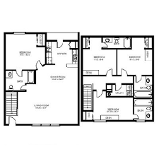 quad level house plans storage for small bedrooms