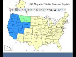 illustrator usa map outline 2 editable usa and canada powerpoint and illustrator royalty free