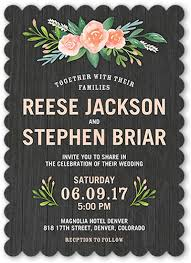wedding invitations shutterfly floral bouquet 5x7 wedding invitations shutterfly