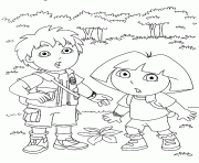 free boots dora printable s1036 coloring pages printable