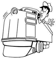 train hat coloring page train engineer looking for railroad coloring page color luna